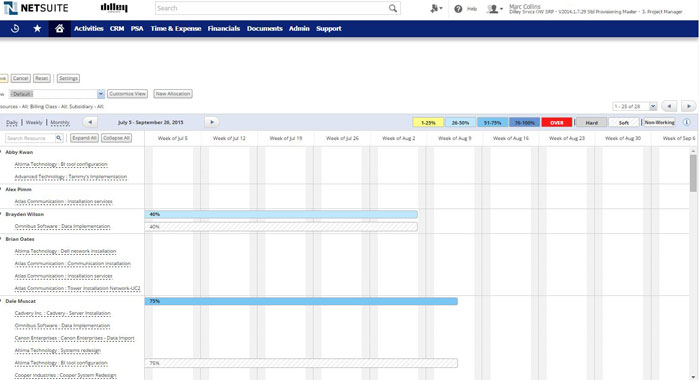 netsuite screenshot 2